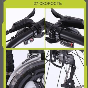 Image 4 - หมาป่า Fang จักรยานเสือภูเขาจักรยาน 29 นิ้ว 27 อลูมิเนียมความเร็วสูงอลูมิเนียมกรอบจักรยานฤดูใบไม้ผลิส้อมด้านหน้าและด้านหลัง mechanical จักรยาน