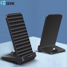 DCAE 2 in 1 Qi Drahtlose Ladegerät Für iPhone 11 X XS XR 8 Samsung S20 S10 S9 Telefon für airpods Pro 15W Typ C Schnelle Ladestation