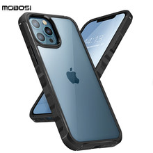 MOBOSI Rhythm Phone Case For iPhone 12 Pro Max 6.7inch Case Hand Sensitive Grip Shockproof Protective Case Back Cover Phone Case
