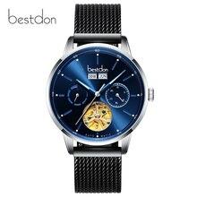 Switzerland Top brand luxury automatic watch men full steel waterproof mechanical men watches clock montre reloj hombre relogio цена в Москве и Питере