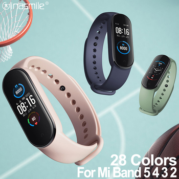 Amazing strap For xiaomi mi band 5 4 3 2 strap correa bracelet for xiao miband 4 strap smart watchwrist for Mi Band 2 3 4 5