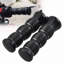 Motorcycle Aluminum Black Metal Hand Grips Handlebar Grips For Indian Scout Scout Sixty Bobber 2015 Up