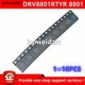 Kaiweikdic, новый импортный оригинальный DRV8801RTYR 8801 DRV8801 QFN16 щеточный двигатель постоянного тока, контрольный чип, электронный компонент