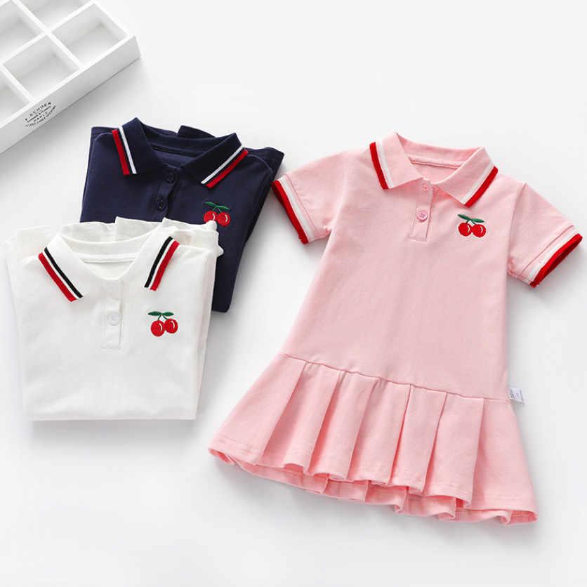 Vestido Para Niñas Vestidos De Algodón Para Niños Vestidos
