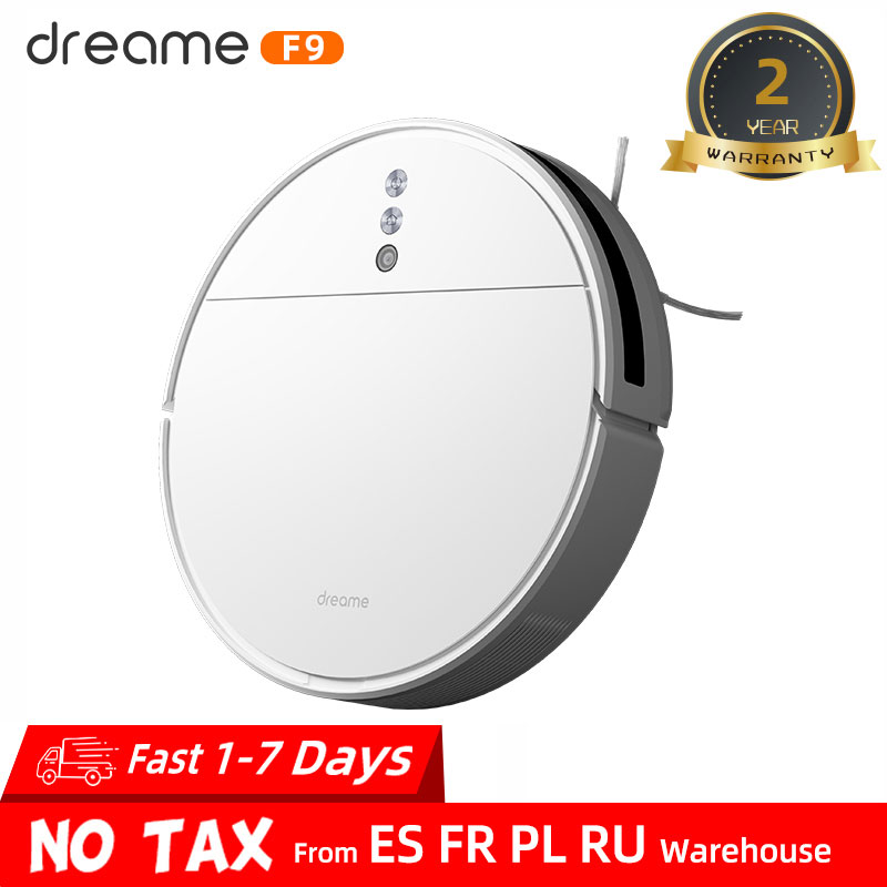 Dreame F9 Robot Vacuum Cleaner for Home 2500Pa strong suction Planned Cleaning Automatically Charge Mop Dust Collector Aspirator|Vacuum Cleaners| - AliExpress
