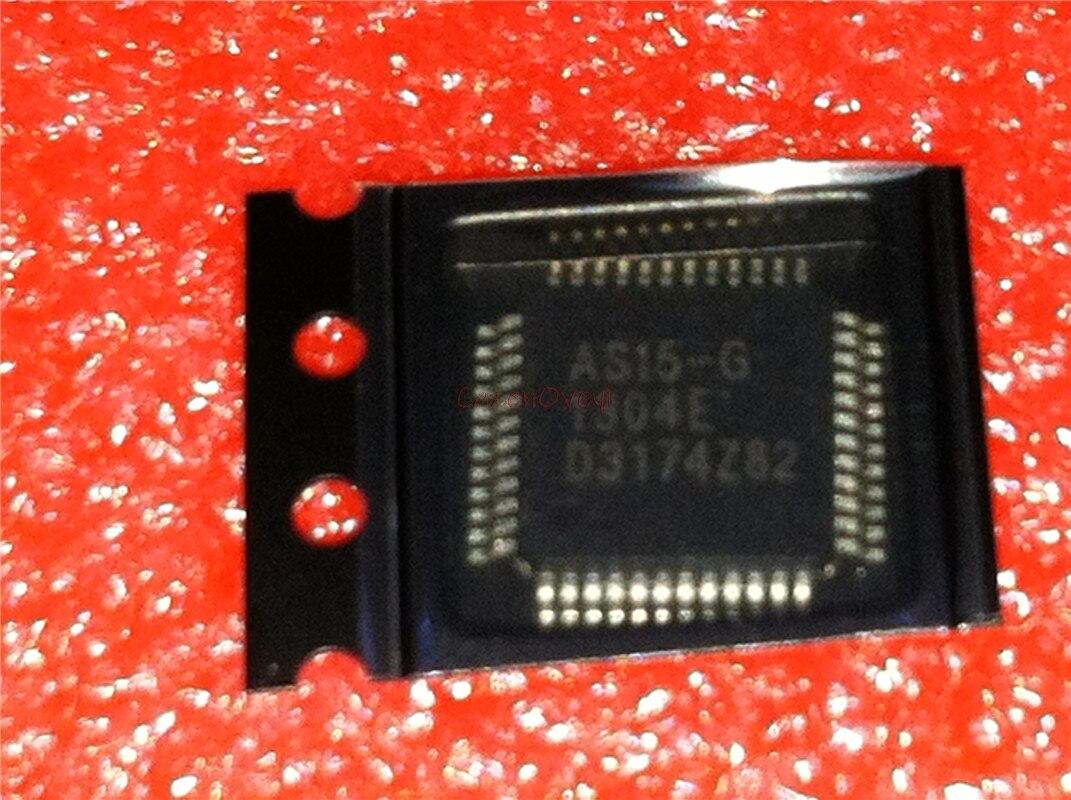 5 pçs/lote AS15 G AS15G TQFP 48 novo original Em EstoqueCircuitos integrados
