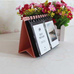 Image 5 - 68 Pockets Polyester Instant Photo Album Picture Case for Fujifilm Instax Mini Film for credit card size book