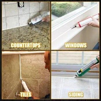 Hot Plastic Universal Caulking Silicone Sealant Nozzle Glue  Nozzle Glass Glue Tip Mouth  Home Improvement Construction Tools 5