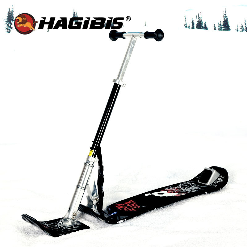 Hagibis Adult Skiing Vehicle Thickened Aluminum Skiing Field User Outside Skiing Equipment