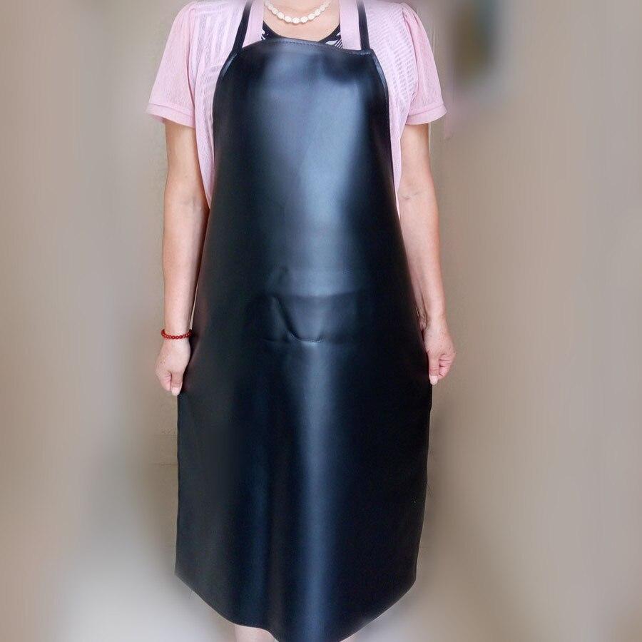 高品質防水耐油労働安全革スモック酸とアルカリ耐性キッチン男性と女性作業服 Th