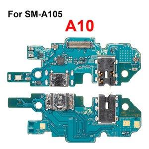 Image 5 - 1Pcs Usb poort Opladen Dock Connector Board Charger Flex Met Microfoon Voor Samsung Galaxy A10 A20 A30 A40 A50 a70 Reparatie Deel
