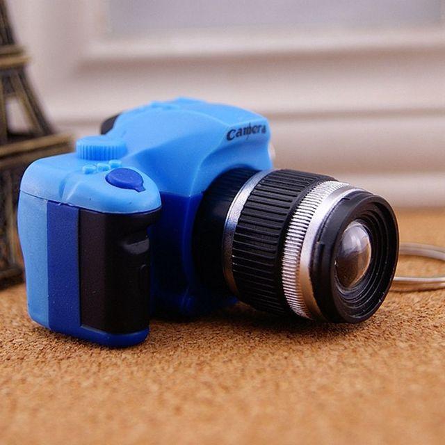 Créatif Super Mini caméra porte-clé LED 5