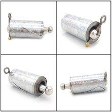 1Pc Staff Portable arti marziali tasca magica in metallo Bo Staff nuova tasca di alta qualità Sport all'aria aperta acciaio inossidabile argento