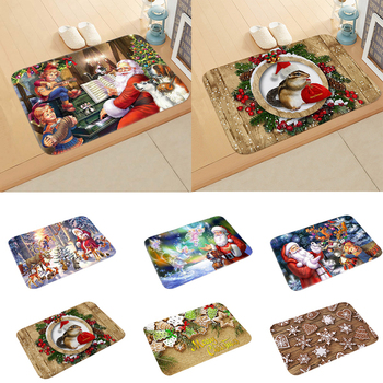 Fengrise Christmas Mat Merry Christmas Decorations For Home Door 2020 Navidad Christmas Ornaments Xmas Gifts Natal New Year 2021 fengrise santa claus christmas wine bottle cover merry christmas decor for home xmas ornaments gifts navidad 2020 new year 2021