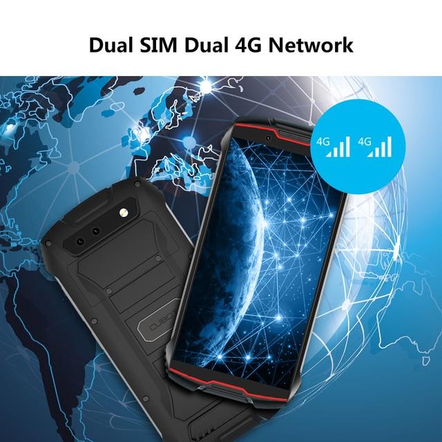 "Cubot KingKong MINI2 Rugged Phone 4"" QHD+ Screen Waterproof 4G LTE Dual-SIM Android 10 3GB+32GB 13MP Camera MINI Phone Face ID 4"
