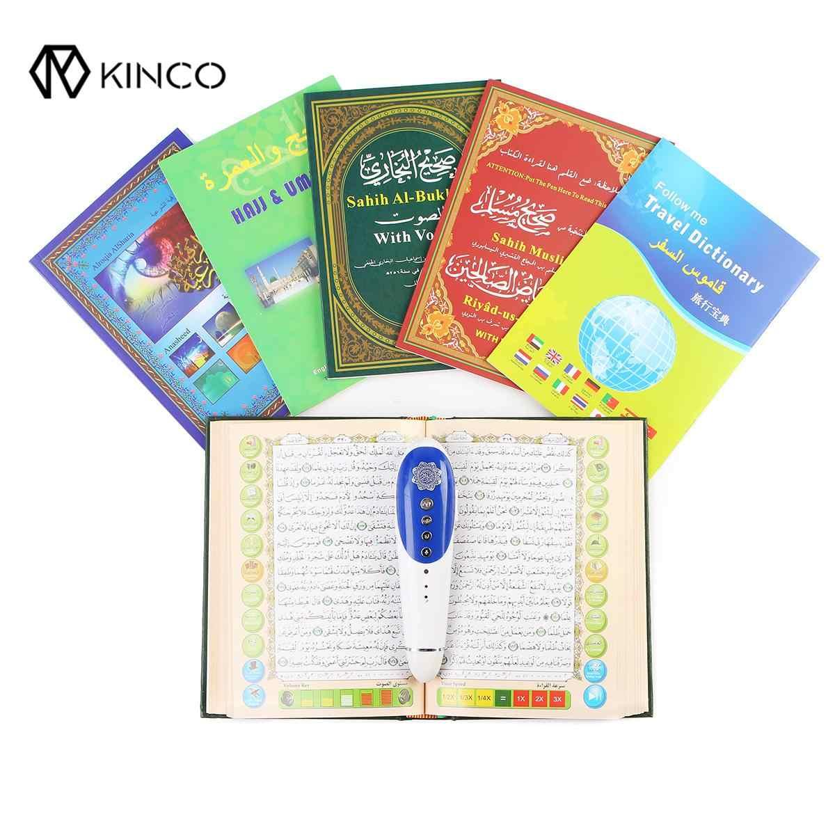 Новая цифровая ручка-считыватель Quran 8 ГБ, 23 языка, цифровая ручка-считыватель Quran, колонка, FM, MP3, TF, с 6 Bos