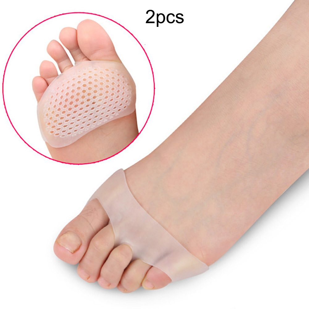 Silicone Soft Pads High Heel Shoes Slip Resistant Pads Protect Pain Relief Foot Care Tool Forefoot Invisible Gel Insoles