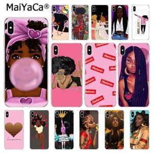 Чехол для телефона MaiYaCa 2bunz Melanin Poppin Aba Black Gir для iphone 11 Pro XS MAX XR 7 8 6 Plus 5 5S SE