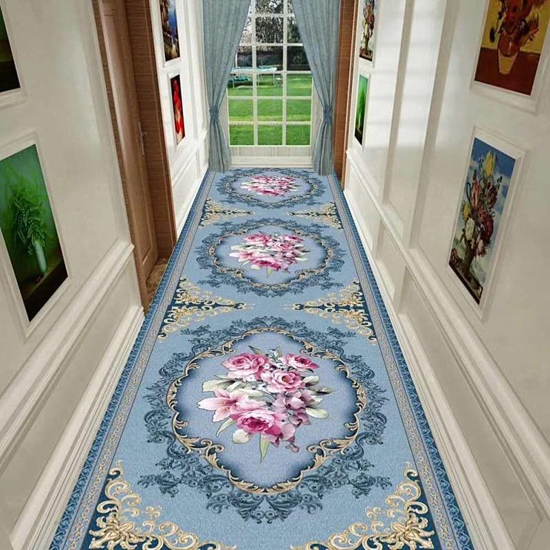 Past Style Long Hallway Carpet