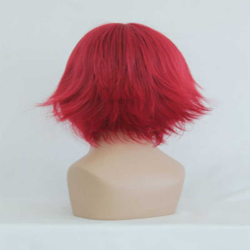 Anime kantai collection Lelouch buntu peruka do cosplay s Kallen Stadtfeld peruka do cosplay peruka syntetyczna włosy Halloween Party peruka damska