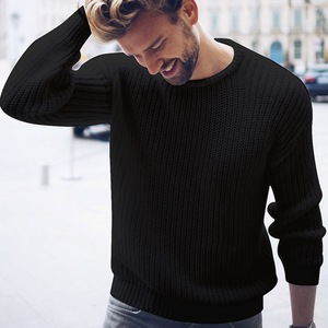 Mens 2019 Fashion Cotton Sweater Pullover Casual Jumper For Male Knitted Korean Style Clothes Plus Size Sweaters