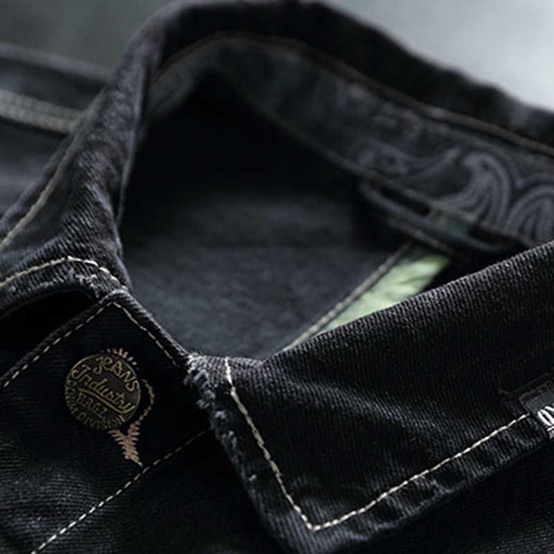 Vintage męskie dżinsy kurtki płaszcze 2020 nowa nazwa marki mężczyzna kurtka dżinsowa XXXL Plus rozmiar europejskiej odzieży wierzchniej płaszcz mężczyźni odzież A607