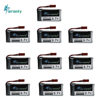 3.7v 1800mAh Rechargeable Battery for HQ859B HQ898B H11D H11C T64 T04 T05 F28 F29 T56 T57 3.7v Lipo battery 1pcs to 10PCS image