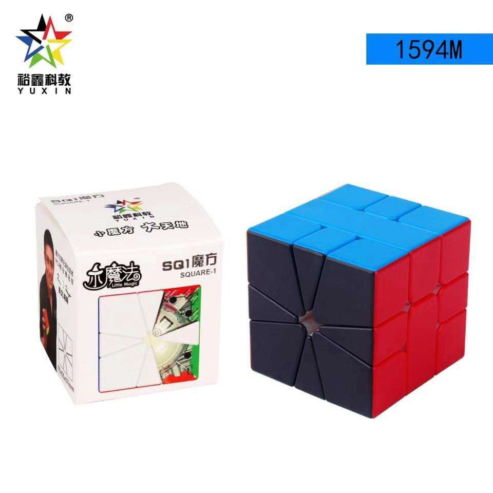 Yuxin Little Magic SQ-1 Magnetic With Black Side SQ1 Cubo Magico Puzzle Square-1 Magic Cube Education Toys For Children Square 1