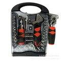 Оптовая продажа бытовой механик Авто Ремонт храповое колесо гаечный ключ набор 45 шт. набор шубби короткий набор инструментов с рукояткой