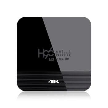 H96 Mini H8 Android 9.0 TV Box RK3228A 2GB 16GB 4K Smart TV Box 2.4G&5G Wifi BT4.0 Media Player Set Top Box(EU Plug)