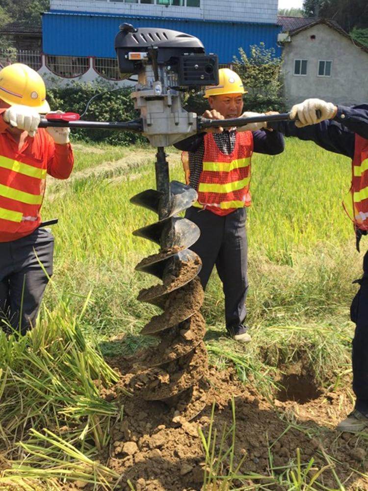 High-power 4-stroke digging machine ...