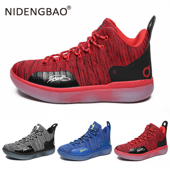 Nowe buty koszykarskie męskie amortyzujące sportowe męskie buty oddychające buty do koszykówki męskie buty sportowe Zapatos Hombre tanie i dobre opinie NIDENGBAO Średnie (b m) Niskie RUBBER Syntetyczny MR11209 Formotion Lace-up Spring2019 Pasuje prawda na wymiar weź swój normalny rozmiar