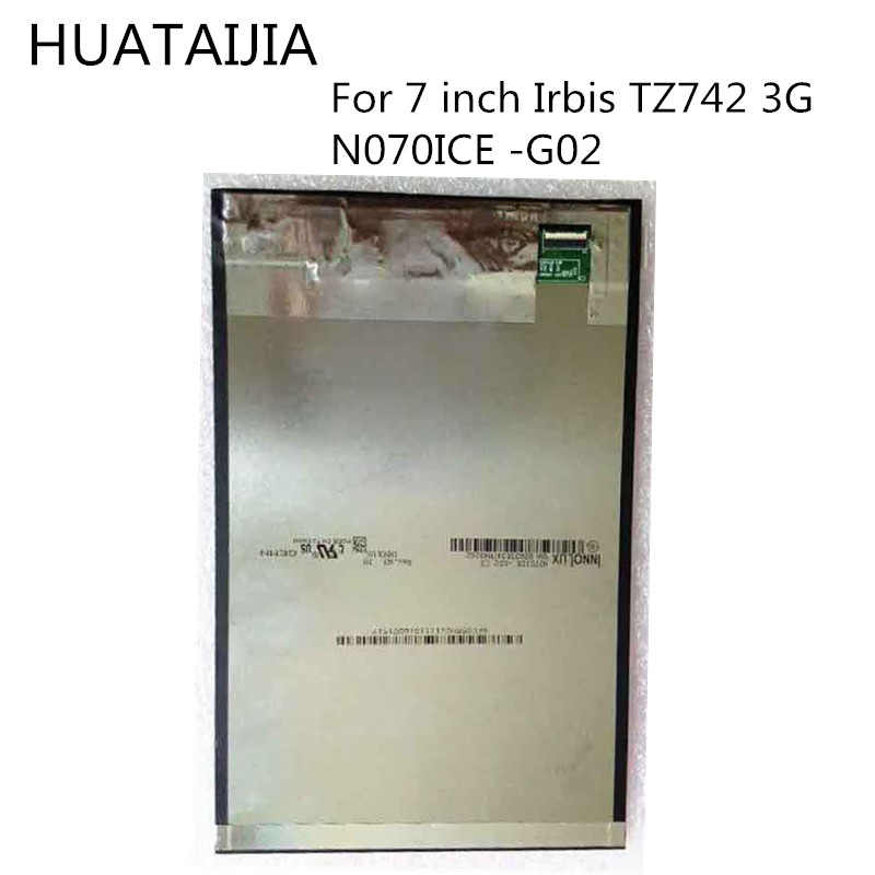 New LCD Display Matrix For 7 inch <font><b>Irbis</b></font> TZ742 <font><b>TZ</b></font> <font><b>742</b></font> 3G Inner LCD Screen N070ICE -G02lcd display image