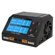 超パワー UP6 + AC 2 × 150 W/DC 2 × 300 ワットデュアルチャンネルスマートバランス充電器 100 〜 110 220V US/220 〜 240 220V EU 2 タイプ