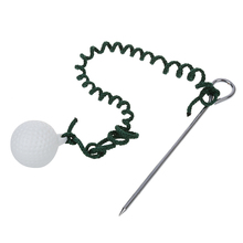 Golf Driving Ball Swing Hit Practice Training Aid цена