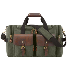 MAHEU Canvas Army Green Navy Blue Grey Travel Bag For Men Male Duffle Bag Weekender Outdoor Travelling Bag Big Capactiy 56cm