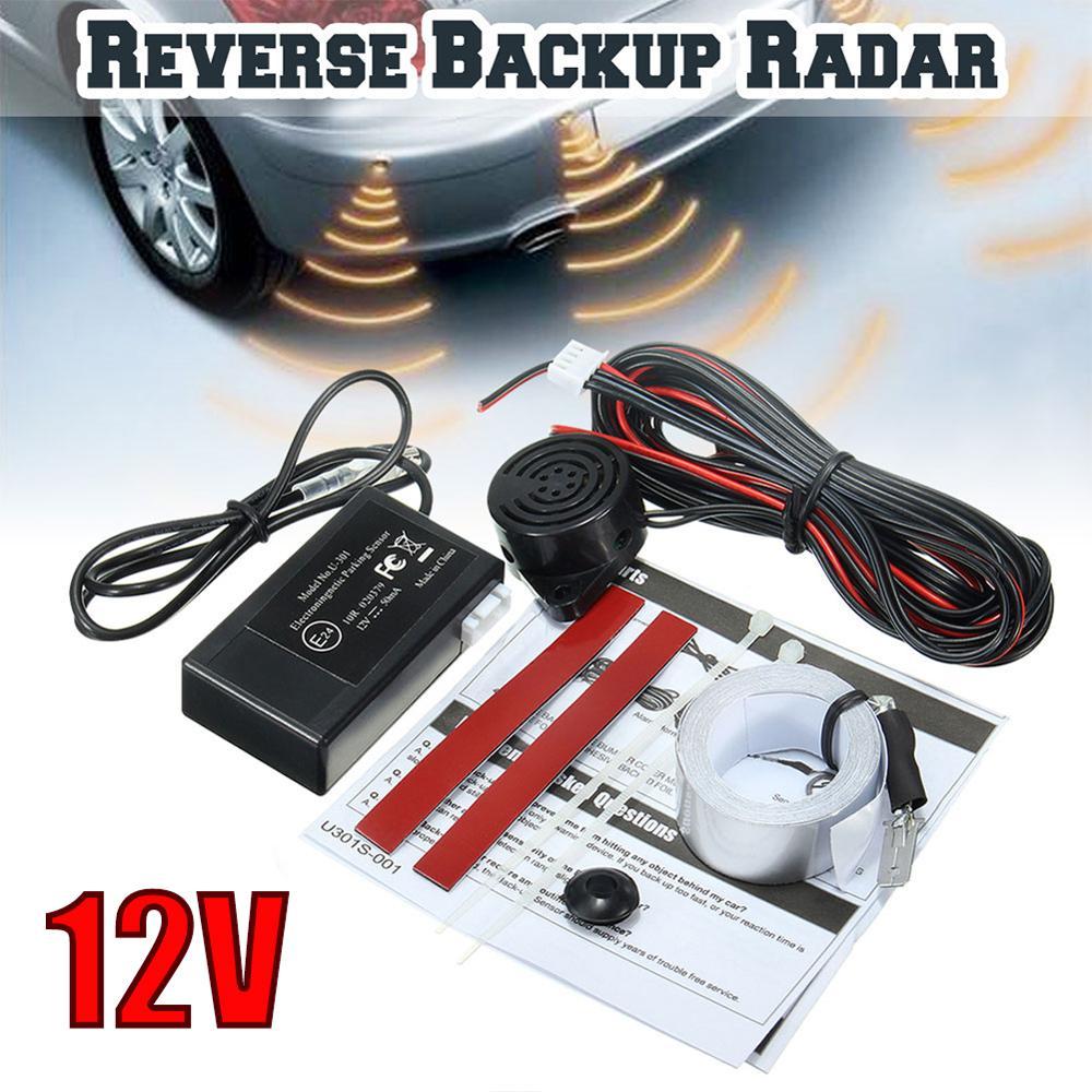 Auto Auto Parktronic Parkplatz Sensor 12V Elektromagnetische Reverse Backup Parkplatz Radar-Monitor Detektor System Radar Sensor Kit