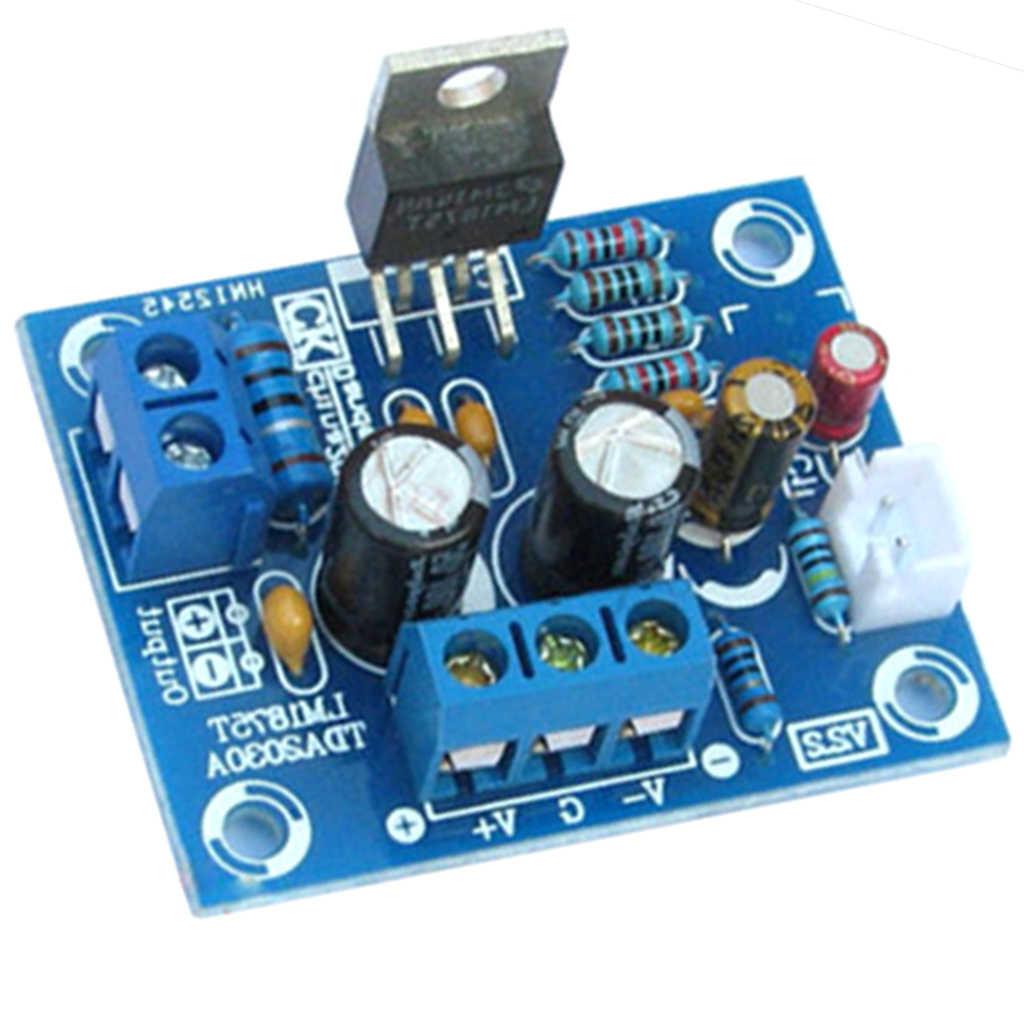 DIY 증폭기 보드 모듈 부품 키트 20w LM1875T 단일 채널 고 충실도 오디오 전력 증폭기