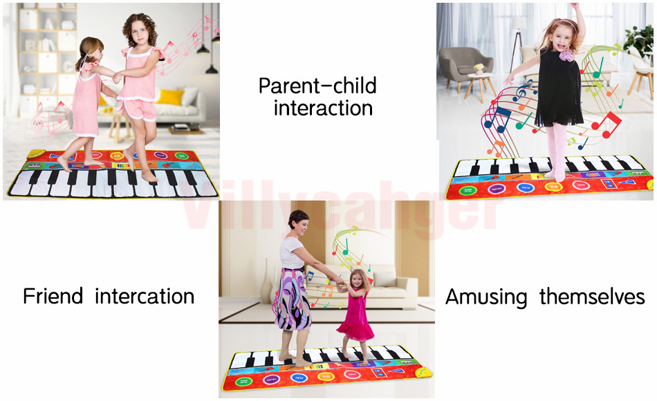 H56b2e920d30148d9a58160842c11e2c20 Large Size Musical Mat Baby Play Piano Mat Keyboard Toy Music Instrument Game Carpet Music Toys Educational Toys for Kid Gifts