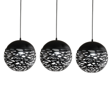 Nordic Modern LED Pendant Lights Iron Hollow Out Metal Ball Pendant Lamp Living room bedroom shop bar Restaurant lighting nordic pendant lights contracted metal led pendant light bedroom restaurant pendant lamp creative wrought iron modern lighting