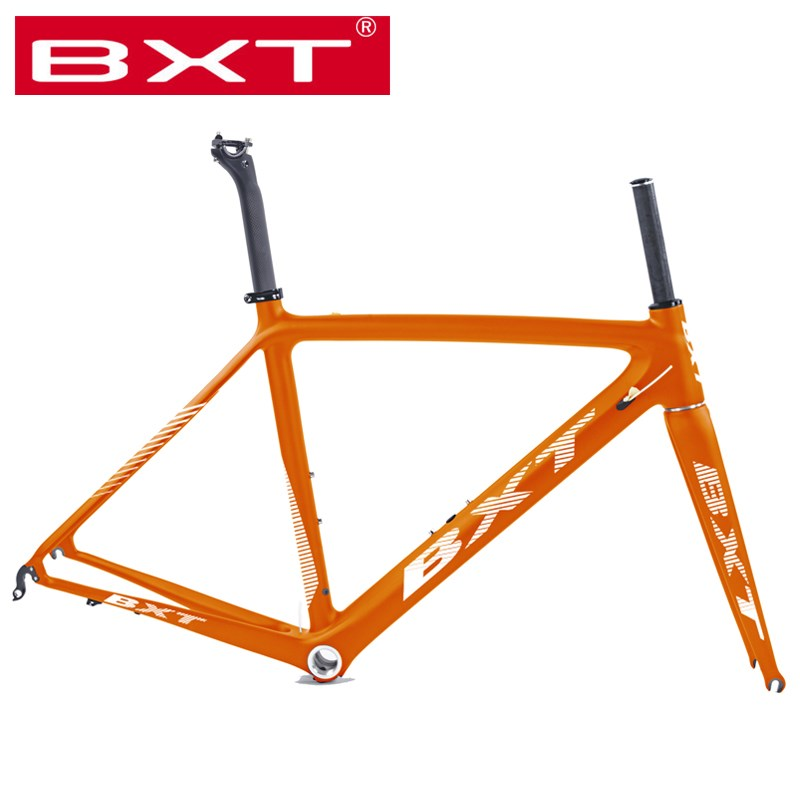 Free Shipping Full Carbon Road Bike Frame Super Light Cycling Bicycle Frameset  Di2/mechanical Racing Carbon Road Bike Parts