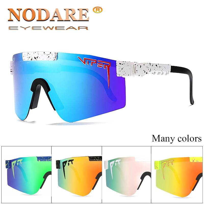 2020 Pit Viper High Quality TR90 Polarized Sunglasses For Men/Women Outdoor Qindproof Eyewear 100% UV Mirrored Lens Oculos UV400