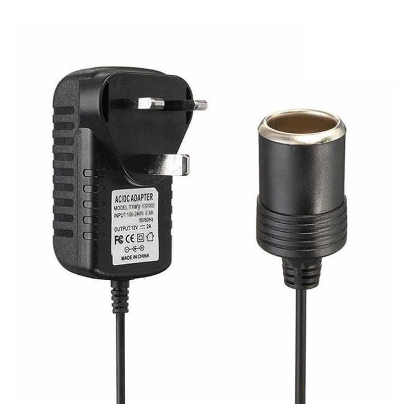 220V to 12V บุหรี่ไฟแช็กซ็อกเก็ต ADAPTER Converter ชิ้นส่วนแบบพกพาใหม่
