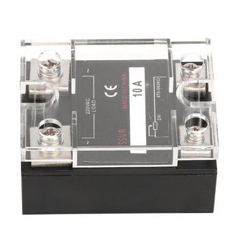 Regulador de voltaje de estado sólido SSVR 10A/25A/40A/60A/75A/80A/100A 220VAC suministros eléctricos