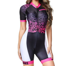 Boestalk Kissbike  Pro Team Triathlon Suit Women's Cycling Jersey Skinsuit Jumpsuit Maillot Cycling Ropa ciclismo set speedsuit цена и фото
