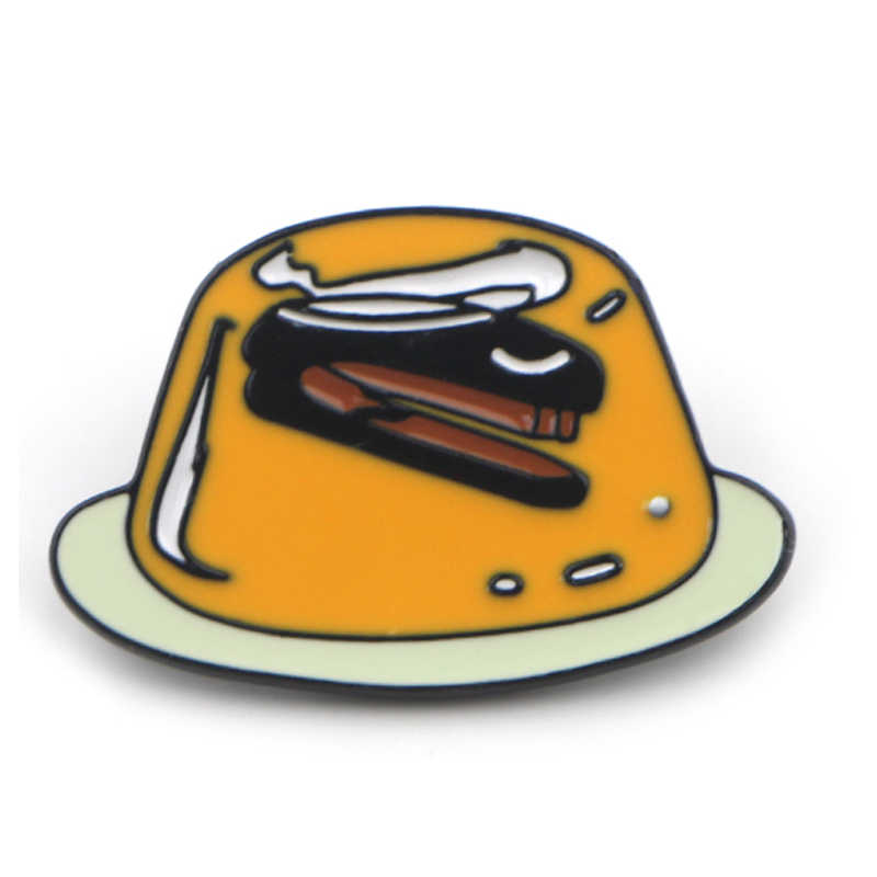K614 Hot TV Kantor Seni Lucu Enamel dan Bros untuk Wanita Pria Lapel Pin Tas Ransel Lencana Koleksi Hadiah 1 Pcs