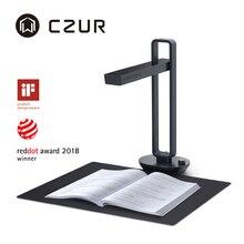CZUR ספר סורק הילה פרו נייד מסמך סורק 14MP מקס A3 גודל עם חכם OCR Led שולחן שולחן מנורת עבור משפחת בית משרד
