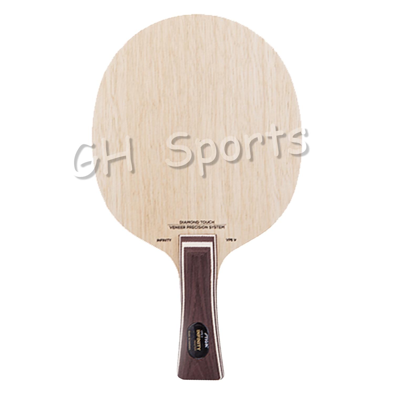 Оригинал STIGA INFINITY VPS V лезвие для настольного тенниса из чистого дерева для вентилятора zhendong ракетки для настольного тенниса ракетка для спо