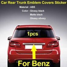 Estilo do carro abs estilo estrela auto tronco traseiro emblema emblema adesivo decoração etiqueta para b g r e gla cglk glc gls classe logotipo