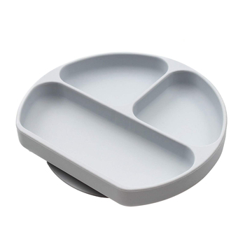 children's dishes baby Silicone Sucker Bowl Baby Smile Face Plate Tableware Set Smile Face Baby Tableware Set kids plate